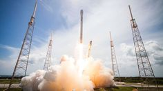 Mega    Route     : SpaceX launches satellites for Iridium mobile netw...