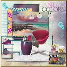 What Inspired You Today... by addicted2design on Polyvore featuring polyvore interior interiors interior design home home decor interior decorating Zuo NOVA Emissary Dot & Bo Evive Designs iCanvas DENY Designs NIKE
