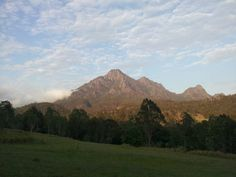 Some of the best mountain views are at 5am!!! Mt Barney Queensland, Australia.