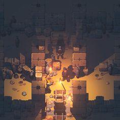 pathwaygif03 Game Design, Game Level Design, Fanart, Top Down Game, Arte 8 Bits, 3d Pixel, Pixel Drawing, Pixel Art Games, Pixel Design
