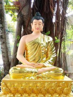 Buddah Statue, Buddha Gifts, Hand Embroidery Videos, Buddha Painting, Gautama Buddha, Krishna Art, Buddhist Art, Wallpaper Free Download, Sacred Art