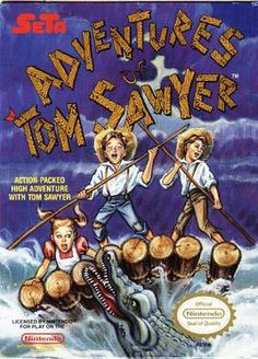 Adventures of Tom Sawyer (Nintendo NES) (Pre-Played - Game Only) Vintage Video Games, Classic Video Games, Retro Video Games, Used Video Games, Video Game Music, Best Spotify Playlists, Atari Jaguar, Adventures Of Tom Sawyer, Nes Games