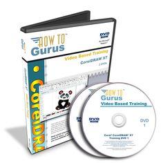 New! Corel CorelDRAW X7 Software Tutorial Training Videos 10 Hours on 2 DVDs #HowToGurus