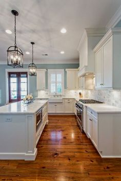 Awesome 120 Awesome White Kitchen Cabinet Design .. - CLICK PIC for Various Kitchen Cabinet Ideas. #cabinets #kitchendesign