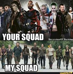 My walking dead squad#squadgoals