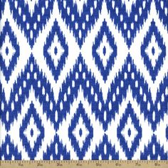 Fresh Cotton Fabric - Blue 36101-2 by Beverlys.com