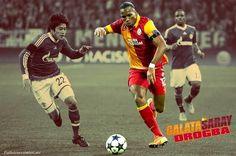 Galatasaray-Didier-Drogba l drogba Istanbul, Football, Goals, Baseball Cards, Sports, Turkey, Soccer, Hs Sports, Futbol
