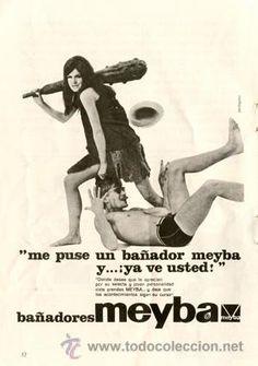 Página Publicidad Original *Bañadores MEYBA* - Agencia Publicidad PENTÁGONO -- Año 1965