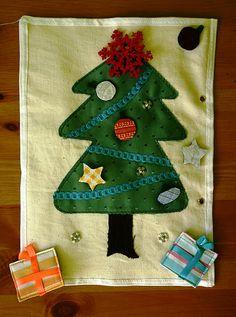 Quiet Book Ideas - Christmas Tree