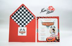 Birthday Invitation by Kim's Studio Audi Hans @ 1 Theme: Cars Motif: Red & Black For inquiries, you may contact us at: Email: kimtasticevents@gmail.com Landline: 024545036 Smart: 09493415942  #cars #disneycars