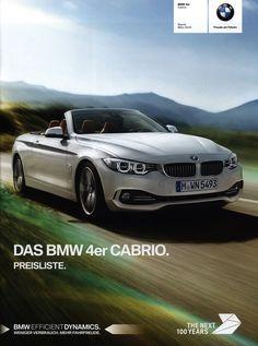 https://flic.kr/p/MsSR7K | BMW 4er Cabrio. Preisliste. (daten facts); 2016