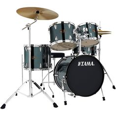 Tama Imperialstar 5-Piece Complete Kit with Meinl HCS Cymbals and 18 i