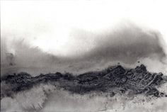 #BelindaAnvil Sumi-e ink and oxides on Hahnemühle paper