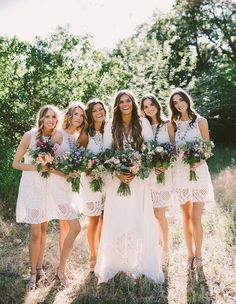 bridesmaids tessa barton wedding