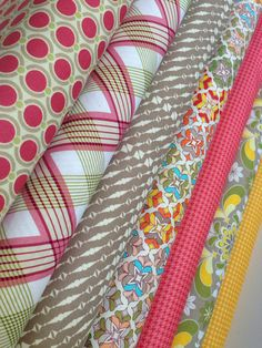 Happy Fall Quilt Fabric bundle by Joel Dewberry and Jenean Morrison for Free Spirit, Fat quarter bundle- 7 total on Etsy, $21.00