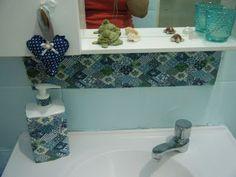 Minha Mãe Sabia: Renovar banheiro sem dinheiro?