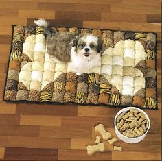 dog biscuit quilt