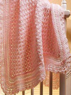 Ravelry: Crochenit Baby Set: Blanket pattern by Mary Middleton - free crochet pattern :0)