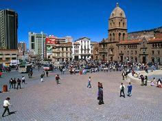 Guru Ram Das, Lord of Miracles South America Tour – La Paz, Bolivia Places Around The World, Around The Worlds, Sucre Bolivia, Iglesia San Francisco, Chile, Dangerous Roads, Bolivia Travel, Equador, Galapagos Islands