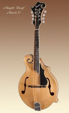 Pomeroy Mandolin Blonde F5 Made in Colorado - Sustainably Harvested Woods