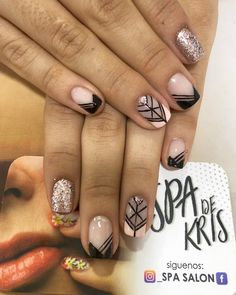 Magic Nails, Short Nails, Manicure And Pedicure, Beauty Nails, Nail Art Designs, Ideas, Nail Art, Work Nails, Gifts