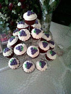 Muy fácil cupcakes primera comunion.