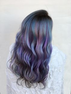 Gorgeous Hair Color, Cool Hair Color, Mermaid Hair, Mermaid Wedding, Short Hair Tomboy, Hair Foils, Hair Colour Design, Creative Hair Color, Hair Dye Colors