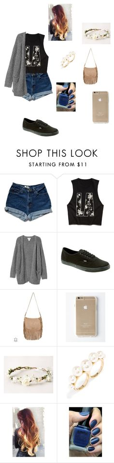 """""""Untitled #189"""" by keren-miralda ❤ liked on Polyvore featuring Forever 21, Monki, Vans, MICHAEL Michael Kors, BaubleBar, NYX, women's clothing, women, female and woman"""