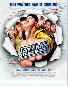 Own the official theatrical poster from Jay & Silent Bob Strike Back - SIGNED by Kevin Smith! Romance Movies, Hd Movies, Movies And Tv Shows, Movie Tv, Funny Movies, Norfolk, Wisconsin, Jason Mewes, Buffalo