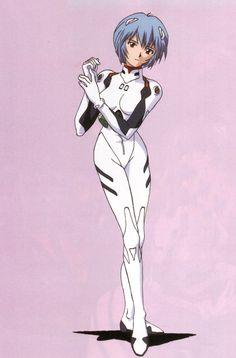 Tags: Neon Genesis Evangelion, Ayanami Rei, Yoshiyuki Sadamoto