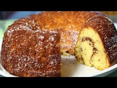 PASTEL ROSCA JUDIA- (vainilla c/nuez & canela) - YouTube Comida Judaica, Jewish Desserts, Yummy Treats, Sweet Treats, Cake Recipes, Dessert Recipes, Cinnamon Pecans, Fun Deserts, Sweets Cake