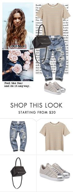 """Untitled #1970"" by ivonce ❤ liked on Polyvore featuring Chicnova Fashion, Givenchy and adidas Originals"