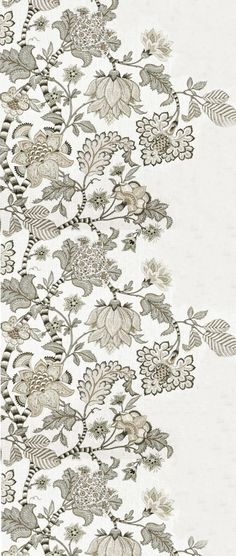 Textile Patterns, Textile Design, Flower Patterns, Print Patterns, Botanical Flowers, Silk Flowers, Kalamkari Designs, Floral Patches, Indian Folk Art