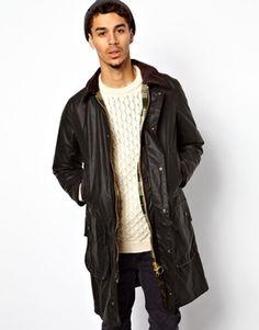 Barbour+Border+Select+Line+Wax+Jacket