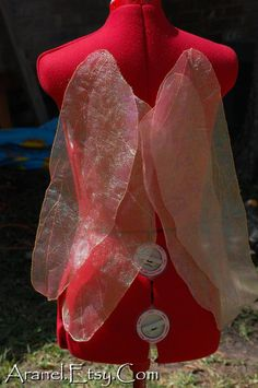 Wireless Dragonfly Fairy Wings - None for sale