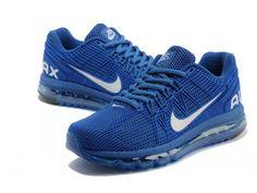 Abbiamo Il Nike Air Max 2013 Mesh in Linea Blu Da Donne Scarpe con Donne Nike Air Max