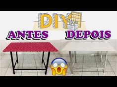 DIY ENCAPAR MESA COM TECIDO #2 - YouTube