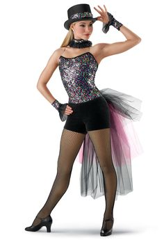 Unitard Costumes   all costumes First Steps tap & jazz lyrical ballet hip-hop 2-in-1 In ...