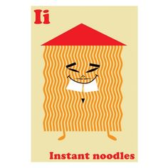 I is for Instant Noodles - Accessories