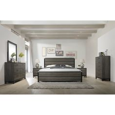 Discover the best coastal bedroom furniture sets for a beach home. Browse beach bedroom furniture sets like beds, headboards, dressers, and nightstands. King Size Bedroom Sets, 5 Piece Bedroom Set, Wood Bedroom Sets, Bedroom Ideas, Bedroom Decor, Contemporary Bedroom Furniture Sets, Mirrored Bedroom Furniture, Bedroom Dressers, Apartment Furniture