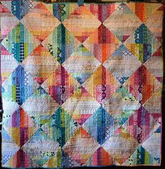 Simply gorgeous scrappy quilt