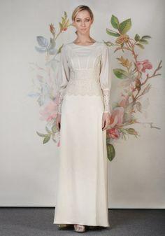 Coleções Vestidos de #Noiva #ClairePettibone #Decoupage 2014 - ESTELLE #casarcomgosto