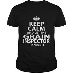 GRAIN INSPECTOR T-Shirts, Hoodies. BUY IT NOW ==► https://www.sunfrog.com/LifeStyle/GRAIN-INSPECTOR-118450391-Black-Guys.html?id=41382