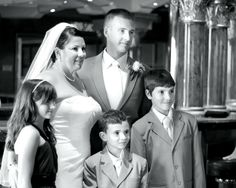 """We love our bride's!  """"I was a widow with three children and then this amazing man captured our hearts and completed our family #onboard the #carnivalVictory."""""""