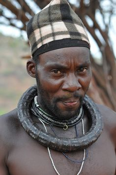 **Married Himba man, Kunene, Namibia