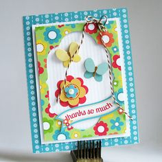 Thanks So Much by Kathy Martin for #Doodlebug using Flower Box