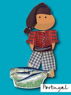 International Day, Portuguese, Samurai, Poster, Fish Paintings, Santos, Crafts, Ideas, Hilarious