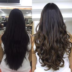 40 top balayage for dark hair black and dark brown hair balayage color 2019 guide 021 Brown Hair With Blonde Highlights, Brown Ombre Hair, Brown Hair Balayage, Balayage Color, Light Brown Hair, Hair Highlights, Dark Hair, Dark Brown, Balayage Hair Dark Black