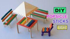 popsicle stick furniture ile ilgili görsel sonucu