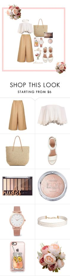 """""""My Summer"""" by esther-dian-hutabarat ❤ liked on Polyvore featuring Topshop, Target, BEA, Larsson & Jennings, Humble Chic and Casetify"""